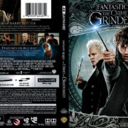 Fantastic Beasts: The Crimes Of Grindelwald (2018) R1 4K UHD Cover