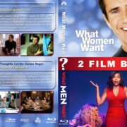 What Women/Men Want Double Feature R1 Custom Blu-Ray Cover