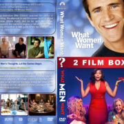 What Women/Men Want Double Feature R1 Custom DVD Cover