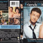 Friends With Benefits (2011) R1 Blu-Ray Cover & label