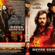 Never Grow Old (2019) R1 Custom DVD Cover