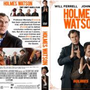 Holmes & Watson (2018) R1 Custom DVD Cover