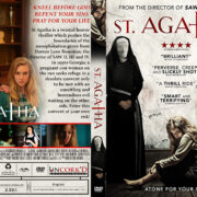 St. Agatha (2018) R1 Custom DVD Cover