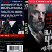 Black 47 (2018) R2 German Custom Blu-Ray Covers