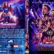 Avengers: Endgame (2019) R0 Custom DVD Cover