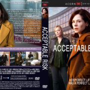 Acceptable Risk (2017) R1 Custom DVD Cover & Labels