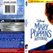 Mary Poppins Returns (2018) R1 4K UHD Cover
