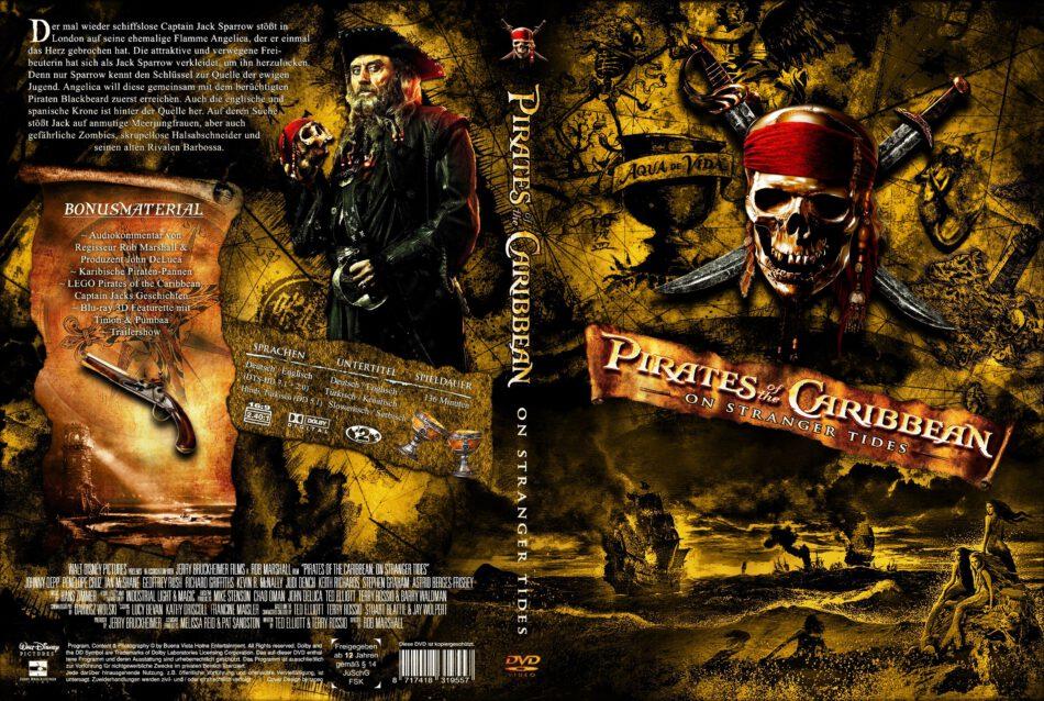 Pirates Of The Caribbean On Stranger Tides 2011 R2 German Custom Dvd Cover Dvdcover Com