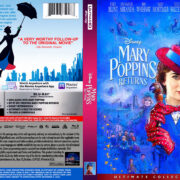 Mary Poppins Returns (2019) R1 4K UHD Custom Cover