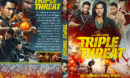 Triple Threat (2019) R1 Custom DVD Cover
