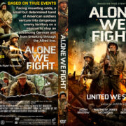 Alone We Fight (2018) R1 Custom DVD Cover