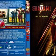 Shazam (2019) R0 Custom DVD Cover