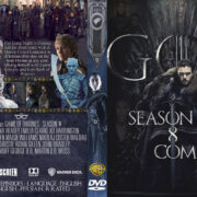 Game of Thrones: Season 8 R0 Custom DVD Cover