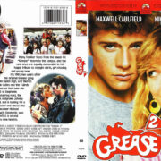 Grease 2 (1982) R1 DVD Cover & label