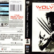WOLVERINE 3D (2013) R1 Blu-Ray Cover