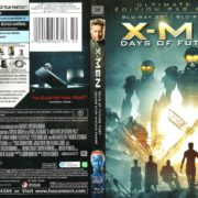X-MEN DAYS OF FUTURE PAST 3D (2014) FR/EN Blu-Ray Cover