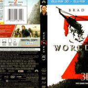 WORLD WAR Z 3D (2013) FR/EN Blu-Ray Cover