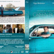 Green Book (2018) R1 Custom DVD cover & label