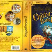 CHITTY CHITTY BANG BANG (1968) R1 DVD Cover & Labels