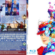 MARY POPPINS RETURNS (2019) R1 CUSTOM BLU-RAY COVER & LABEL