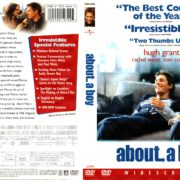 ABOUT A BOY (2002) R1 DVD COVER & LABEL