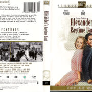ALEXANDER'S RAGTIME BAND (1938) R1 DVD COVER & LABEL