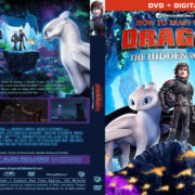 How to Train Your Dragon: The Hidden World (2019) R1 Custom DVD Cover V2