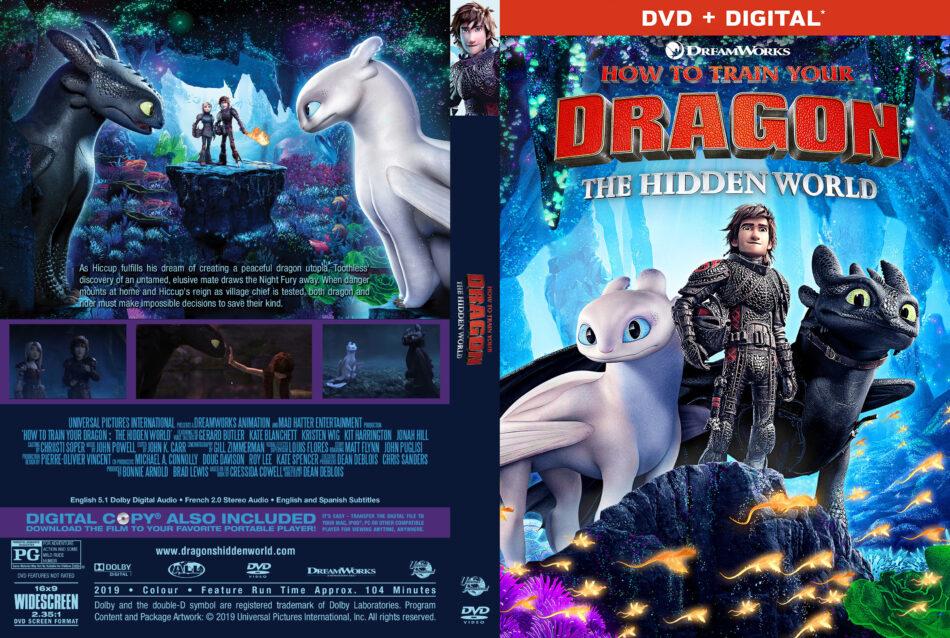 How To Train Your Dragon The Hidden World 2019 R1 Custom Dvd Cover V2 Dvdcover Com