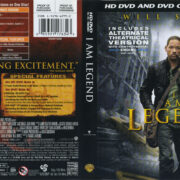 I Am Legend (2007) R1 HD DVD COVER