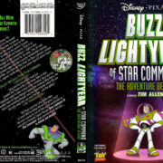 BUZZ LIGHTYEAR OF STAR COMMAND (2000) R1 DVD COVER & LABEL