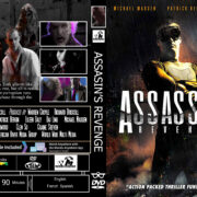 Assassins Revenge (2018) R0 Custom DVD COVER