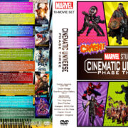 Marvel Studios Cinematic Universe – Phase Three (10) R1 Custom DVD Cover