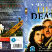 A MATTER OF LIFE AND DEATH (1946) R1 DVD COVER & LABEL