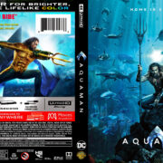Aquaman (2018) R1 4K Custom Cover