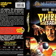 DR. PHIBES RISES AGAIN! (1972) R1 DVD COVER & LABEL