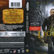 I Am Legend (2007) R1 4K UHD Cover & Labels
