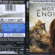 Mortal Engines (2018) R1 4K UHD Cover & Labels