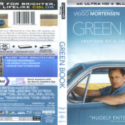 Green Book (2018) R1 4K UHD Cover & labels