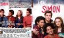 LOVE SIMON (2018) R1 CUSTOM BLU-RAY COVER & LABEL