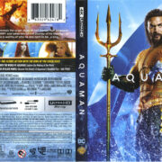 Aquaman (2018) R1 4K UHD Cover & labels