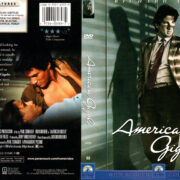 AMERICAN GIGOLO (1980) R1 DVD COVER & LABEL