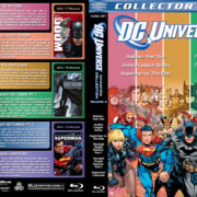 DC Animated Collection – Volume 3 R1 Custom Blu-Ray Cover