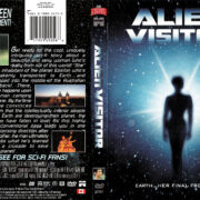 ALIEN VISITOR (1997) R1 DVD COVER & Label