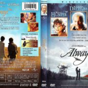 ALWAYS (1999) R1 DVD COVER & Label
