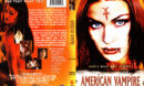 AMERICAN VAMPIRE (2001) R1 DVD COVER & Label