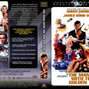 The Man with the Golden Gun (1974) R1 Custom DVD Cover & Label