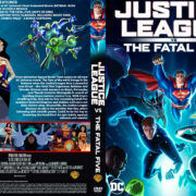 Justice League vs the Fatal Five (2019) R1 Custom DVD Covers