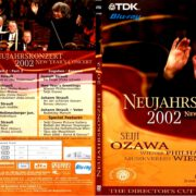 NEUJAHRSKONZERT 2002 NEW YEAR'S CONCERT CUSTOM BLU-RAY COVER & LABEL