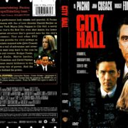CITY HALL (1996) R1 DVD COVER & LABEL