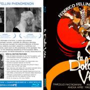 LA DOLCE VITA (1960) CUSTOM BLU-RAY COVER & LABEL